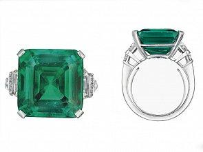 Smaragdový prsten rodiny Rockefellerů jde do dražby